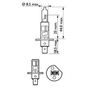 PHILIPS Glühlampe, Fernscheinwerfer 12258XVGS2
