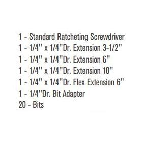 SATA Bit-Schraubendreher 9343 Online Shop