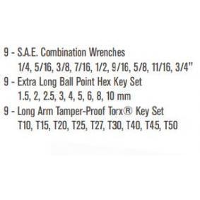 SATA Ring- / Gabelschlüsselsatz 9922 Online Shop