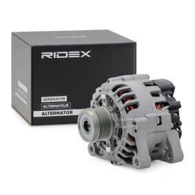 9649611280 für RENAULT, FIAT, PEUGEOT, CITROЁN, ALFA ROMEO, Generator RIDEX (4G0266) Online-Shop