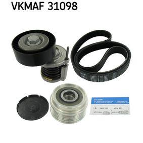 Sada klinoveho zebrovaneho remene (VKMAF 31098) výrobce SKF pro SKODA Octavia II Combi (1Z5) rok výroby 06.2009, 105 HP Webový obchod