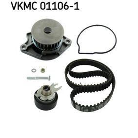 SKF Pompa Acqua + Kit Cinghia Distribuzione VKMC 01106-1 per VW POLO 1.4 60 CV comprare