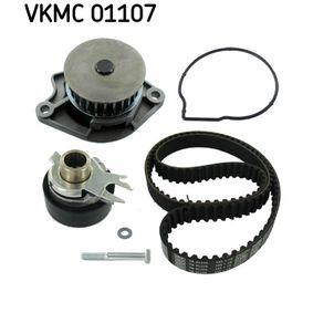 SKF Pompa Acqua + Kit Cinghia Distribuzione VKMC 01107 per VW POLO 1.4 60 CV comprare