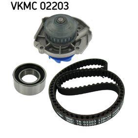 SKF FIAT PANDA Water pump + timing belt kit (VKMC 02203)