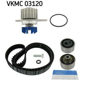 Wasserpumpe + Zahnriemensatz SKF Art.No - VKMC 03120 kaufen