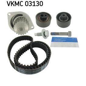 SKF Pompa acqua + Kit cinghie dentate N° denti: 134, Largh.: 25,4mm VKMC 03130 di qualità originale