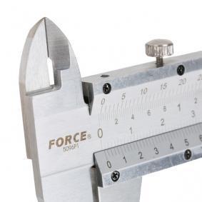 FORCE Paquímetro (5096P1) a baixo preço