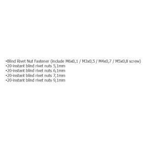 FORCE Cleste pentru nituri 5861 magazin online