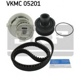 Wasserpumpe + Zahnriemensatz SKF Art.No - VKMC 05201 OEM: 90284913 für OPEL, BEDFORD, VAUXHALL kaufen