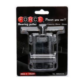 666A035 Kit attrezzi montaggio, Mozzo / Cuscinetto ruota di FORCE attrezzi di qualità