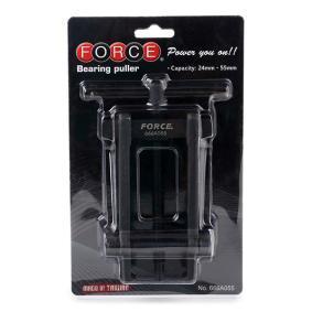 666A055 Kit attrezzi montaggio, Mozzo / Cuscinetto ruota di FORCE attrezzi di qualità