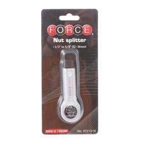 6721216 Секач за гайки от FORCE качествени инструменти