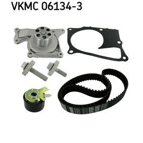 Zahnriemensatz (VKMC 06134-3) hertseller SKF für RENAULT TWINGO II (CN0_) ab Baujahr 10.2010, 75 PS Online-Shop