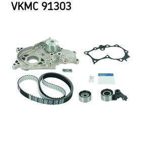 Water pump + timing belt kit VKMC 91303 SKF