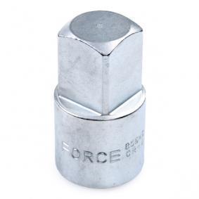 Zestaw adapterów powiększających, klucze zapadkowe 80946 FORCE
