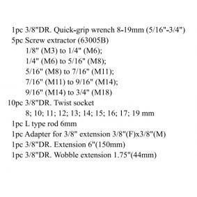 FORCE Kit de extractores de pernos 920U3 tienda online