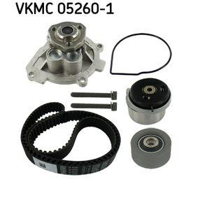 SKF Wasserpumpe + Zahnriemensatz VKMC 05260-1