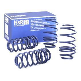 H&R Комплект за ходовата част пружини 29261-2