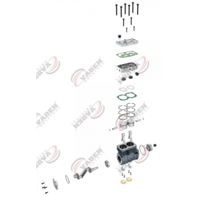 VADEN Kompressor, Druckluftanlage 5003460 für FORD, VOLVO bestellen