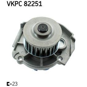 PUNTO (188) SKF Water pump VKPC 82251