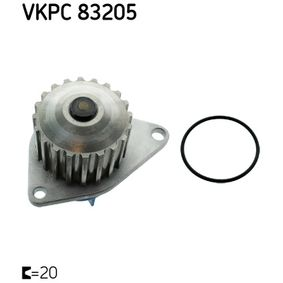 Wasserpumpe SKF Art.No - VKPC 83205 kaufen