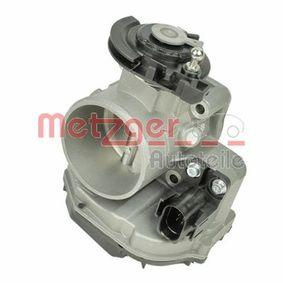 Drosselklappenstutzen METZGER Art.No - 0892612 OEM: 058133063Q für VW, AUDI, SKODA, SEAT kaufen
