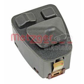 METZGER Schalter Spiegelverstellung 0916419