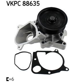 Wasserpumpe (VKPC 88635) hertseller SKF für BMW X3 (E83) ab Baujahr 11.2003, 150 PS Online-Shop