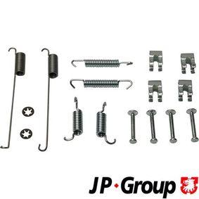 PUNTO (188) JP GROUP Accessory kit brake shoes 3364002110