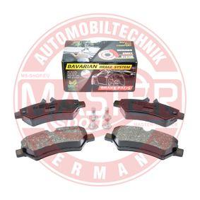 Bremsbelagsatz, Scheibenbremse MASTER-SPORT Art.No - K6038322 OEM: 2E0698451 für VW, MERCEDES-BENZ, AUDI, SKODA, SEAT kaufen