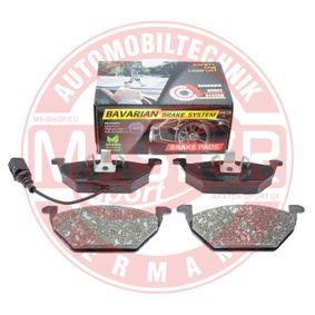 Bremsbelagsatz, Scheibenbremse MASTER-SPORT Art.No - K6071172 OEM: JZW698151 für VW, AUDI, SKODA, SEAT, SMART kaufen