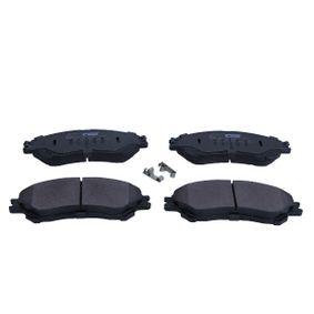 Bremsbelagsatz, Scheibenbremse MAXGEAR Art.No - 19-3610 OEM: 5581061M50 für SUZUKI, SATURN kaufen