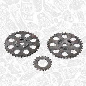 ET ENGINETEAM RS0074 Steuerkettensatz OEM - 95510108500 PORSCHE, VW günstig