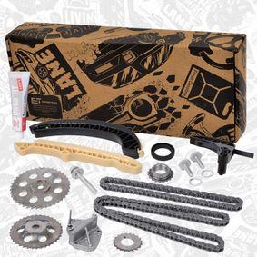 Steuerkettensatz ET ENGINETEAM Art.No - RS0075 OEM: 038103085E für VW, AUDI, FORD, SKODA, SEAT kaufen
