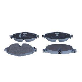 Kit de plaquettes de frein, frein à disque QUARO Art.No - QP2013 OEM: 5Q0698151D pour VOLKSWAGEN, AUDI, SEAT, SKODA récuperer