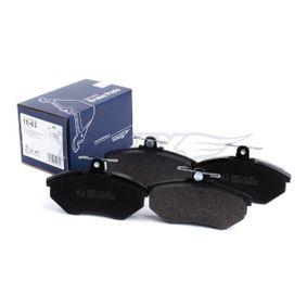 Bremsbelagsatz TX 10-63 TOMEX brakes
