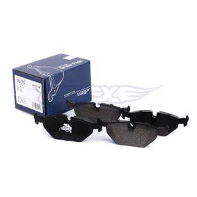TOMEX brakes Bremsbelagsatz, Scheibenbremse 34211162446 für BMW, MINI, ROVER bestellen