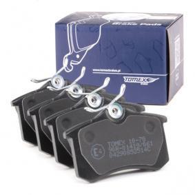 1H0698451 für VW, AUDI, FIAT, PEUGEOT, SKODA, Bremsbelagsatz, Scheibenbremse TOMEX brakes (TX 10-78) Online-Shop