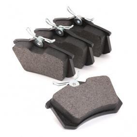 TOMEX brakes Комплект спирачно феродо, дискови спирачки TX 10-781