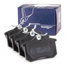 425441 für VW, AUDI, FORD, RENAULT, FIAT, Bremsbelagsatz, Scheibenbremse TOMEX brakes (TX 10-781) Online-Shop