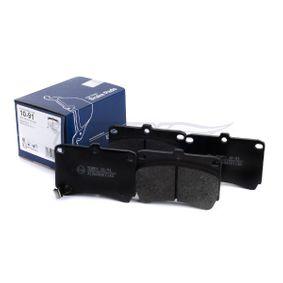 Bremsbelagsatz TX 10-91 TOMEX brakes