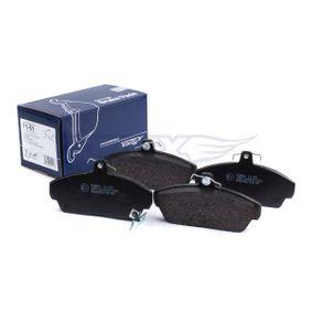 TOMEX brakes Комплект спирачно феродо, дискови спирачки GBP90315AF за HONDA, SKODA, LAND ROVER, ROVER, MG купете