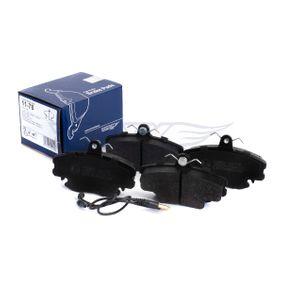 Bremsbelagsatz TX 11-78 TOMEX brakes