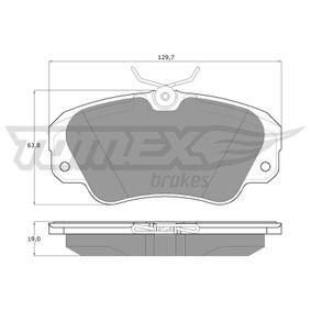 Bremsbelagsatz, Scheibenbremse TOMEX brakes Art.No - TX 11-91 OEM: 1605004 für OPEL, CHEVROLET, SAAB, CADILLAC, VAUXHALL kaufen
