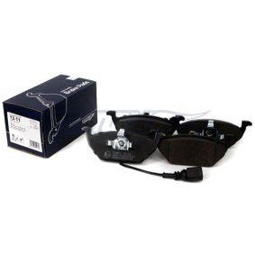 TOMEX brakes Bremsbelagsatz, Scheibenbremse JZW698151 für VW, AUDI, SKODA, SEAT, SMART bestellen
