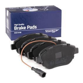 77362712 für FIAT, PEUGEOT, VOLVO, ALFA ROMEO, LANCIA, Bremsbelagsatz, Scheibenbremse TOMEX brakes (TX 12-49) Online-Shop