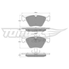 Bremsbelagsatz, Scheibenbremse TOMEX brakes Art.No - TX 12-82 kaufen