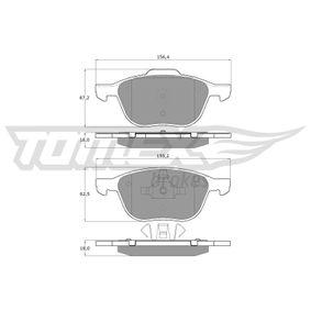 Bremsbelagsatz, Scheibenbremse TOMEX brakes Art.No - TX 13-05 kaufen