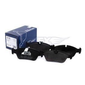 TOMEX brakes Bremsbelagsatz, Scheibenbremse 34212157575 für BMW bestellen