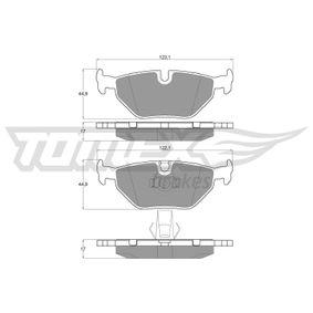 Bremsbelagsatz, Scheibenbremse TOMEX brakes Art.No - TX 13-21 OEM: 34212157591 für BMW kaufen